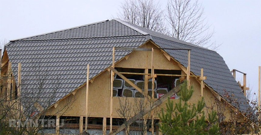 Утепление крыши Судейкина