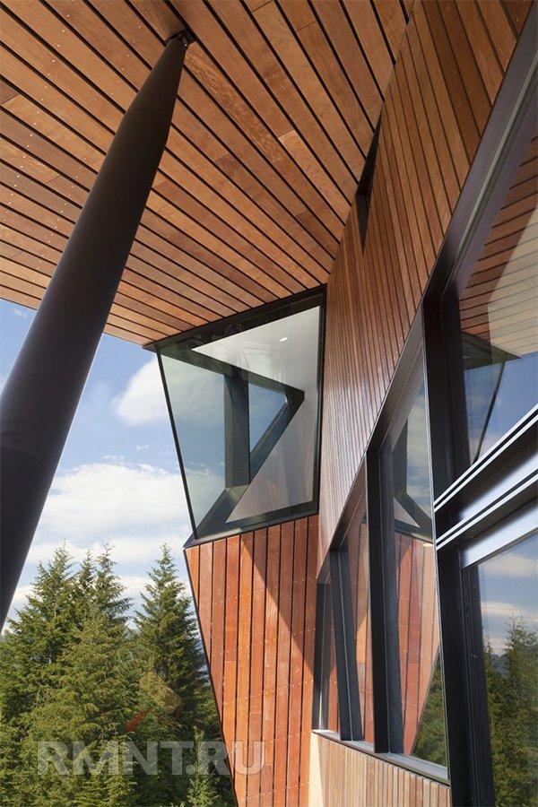 Hadaway House: необычный дом на склоне горы
