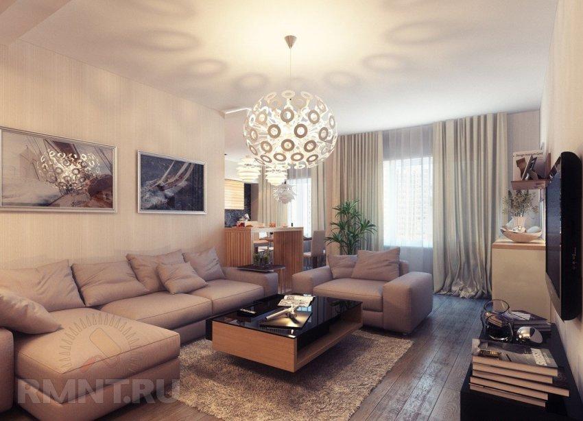 Современные и классические люстры в интерьере гостиной: 20 фотоидей.