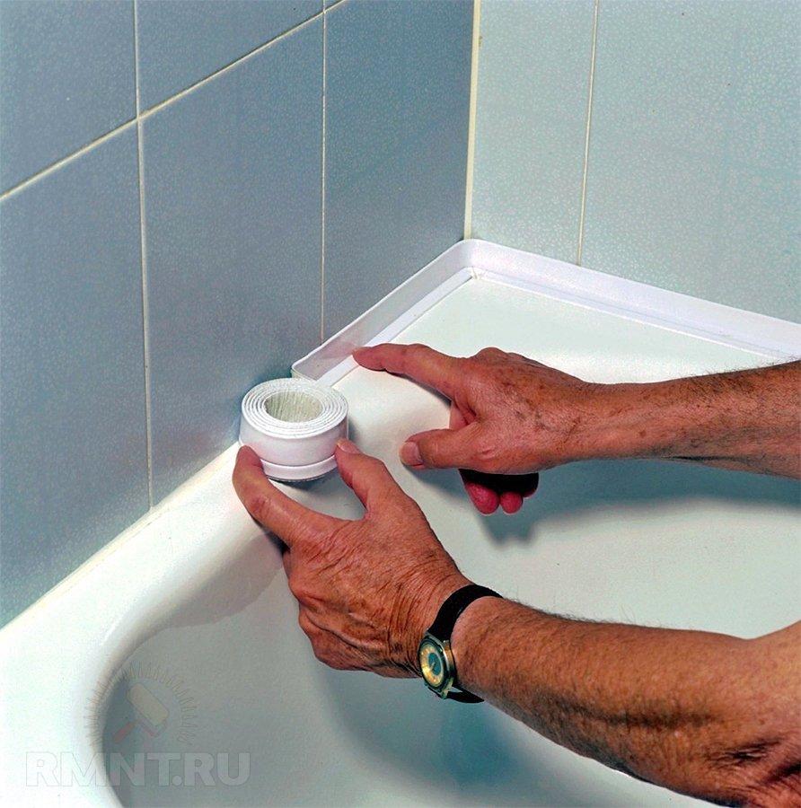 Бордюрная лента для ванны
