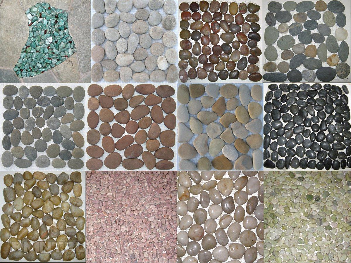 Плитка из морских камней своими руками 94