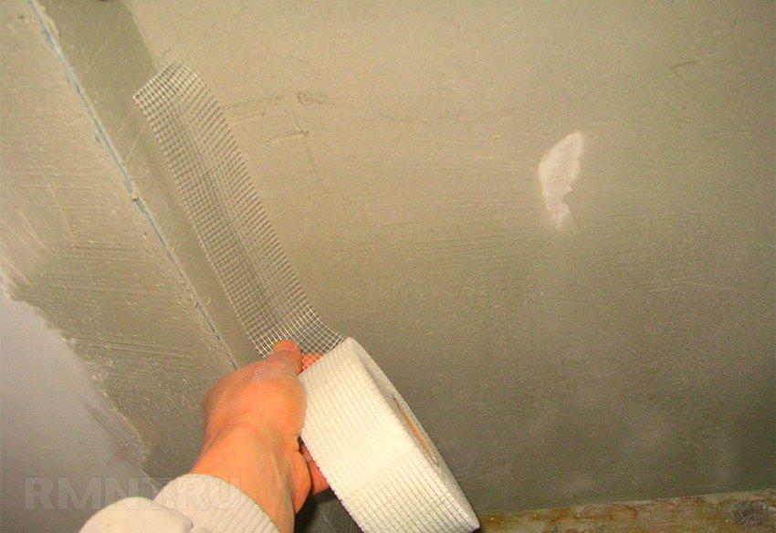 Шпаклёвка потолка под покраску своими руками фото 379