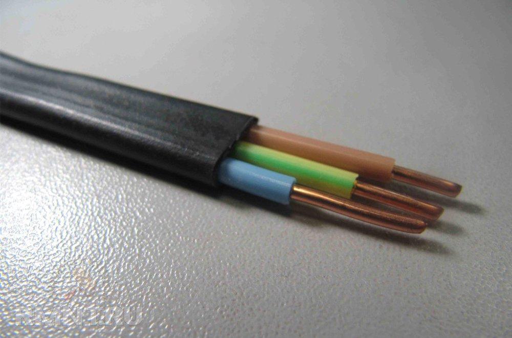 Силовой медный кабель ВВГнг 3х2,5