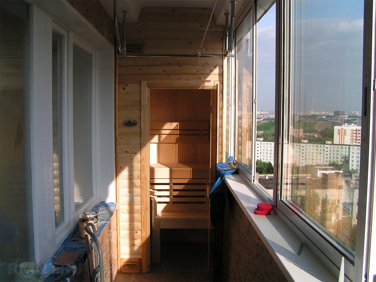 Ремонт балкона в своем доме своими руками 164