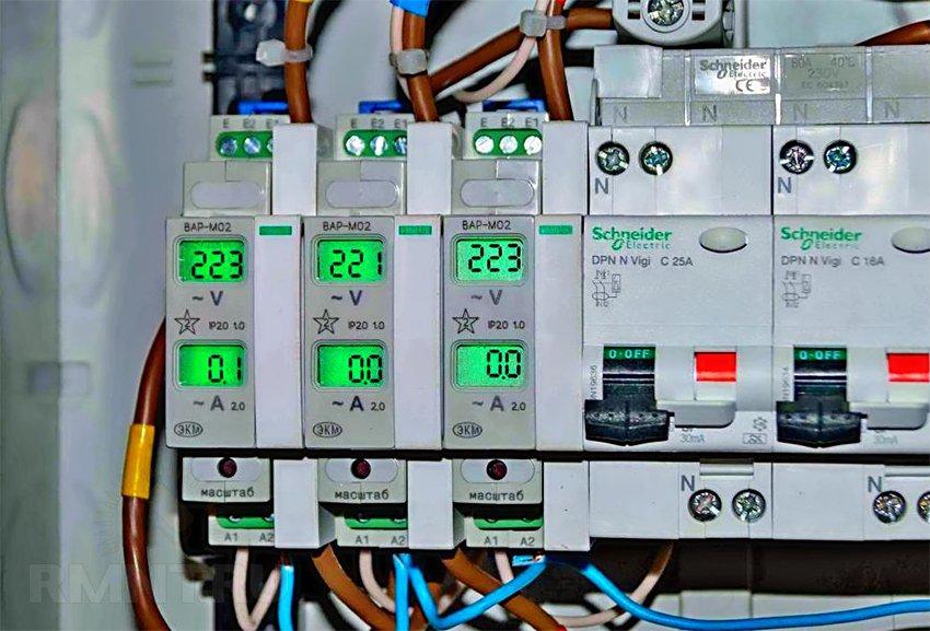 Измерители напряжения и тока