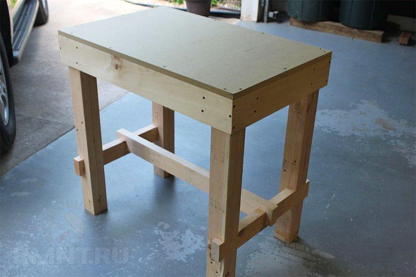 Как сделать стол для домика 975
