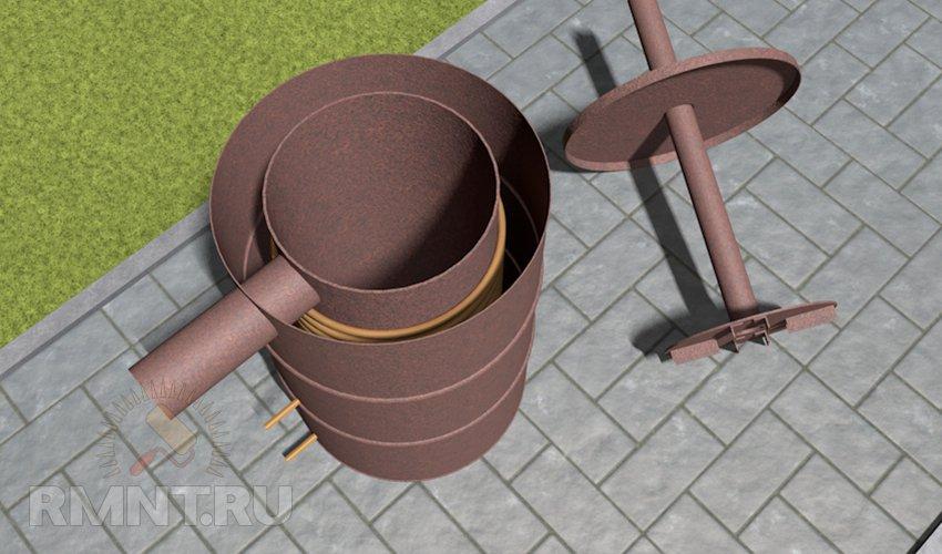 Водяной теплообменник для буржуйки своими руками Кожухотрубный испаритель ONDA HPE 725 Кисловодск