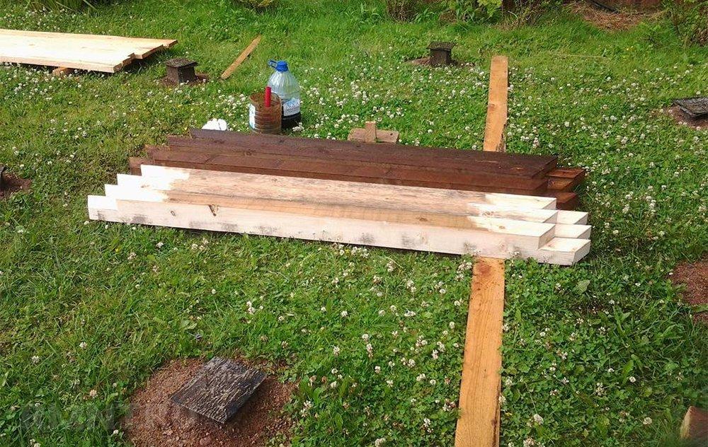 Обработка древесины антипиреном