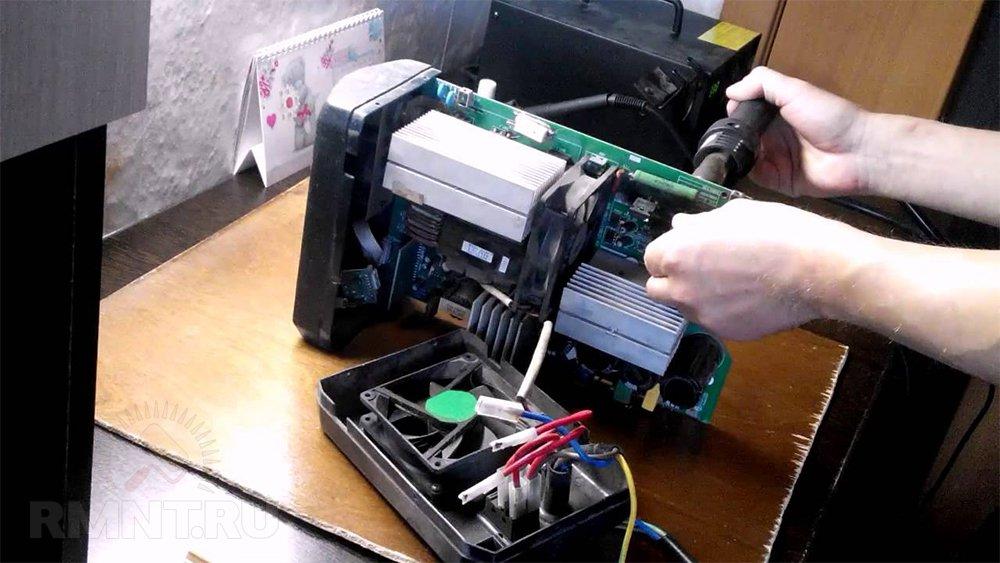 Модернизация сварочного инвертора
