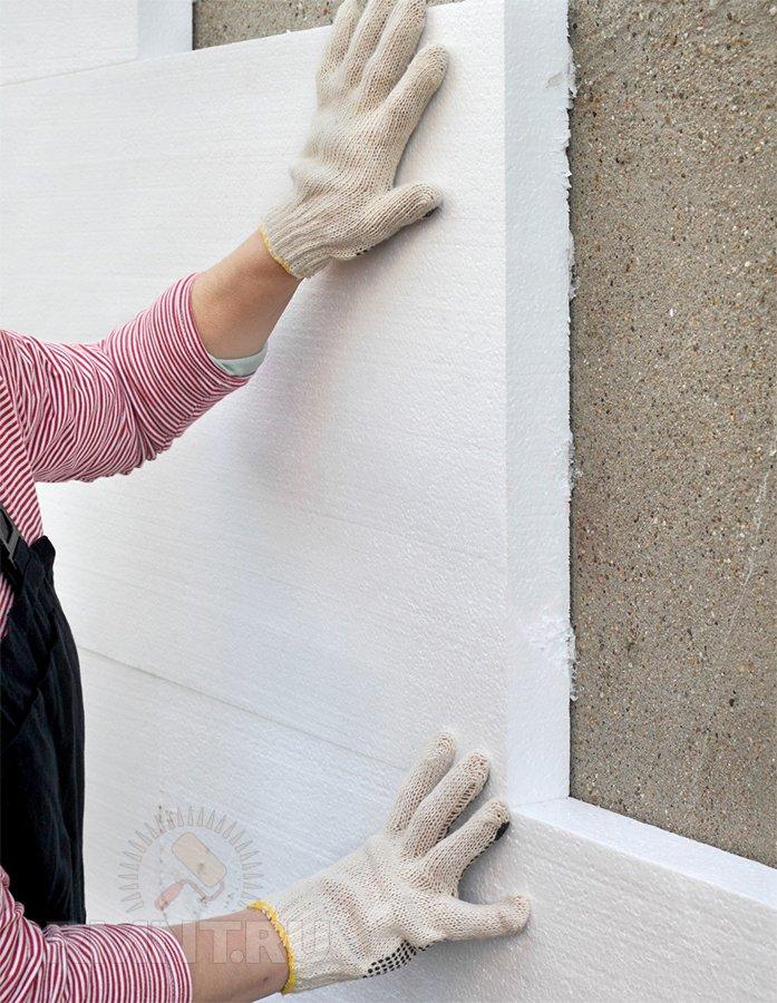 Толщина утеплителя зависит от толщины несущей стены