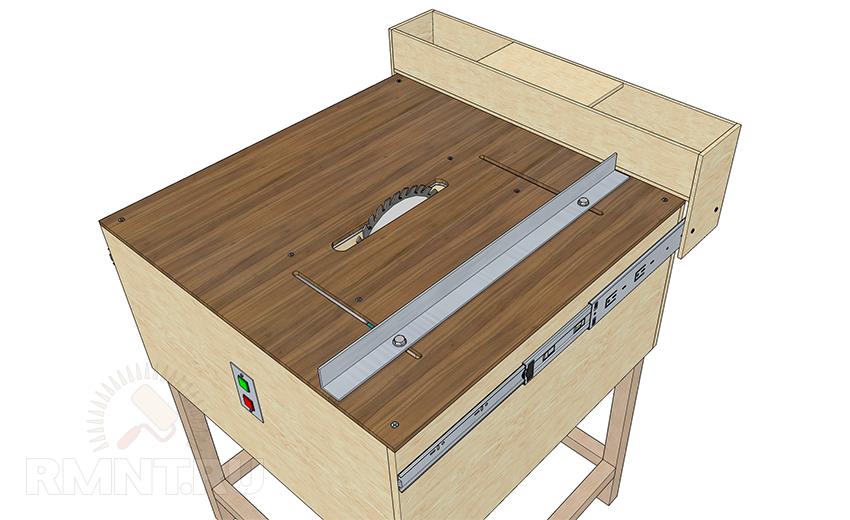 Стол для ручной циркулярной пилы размеры