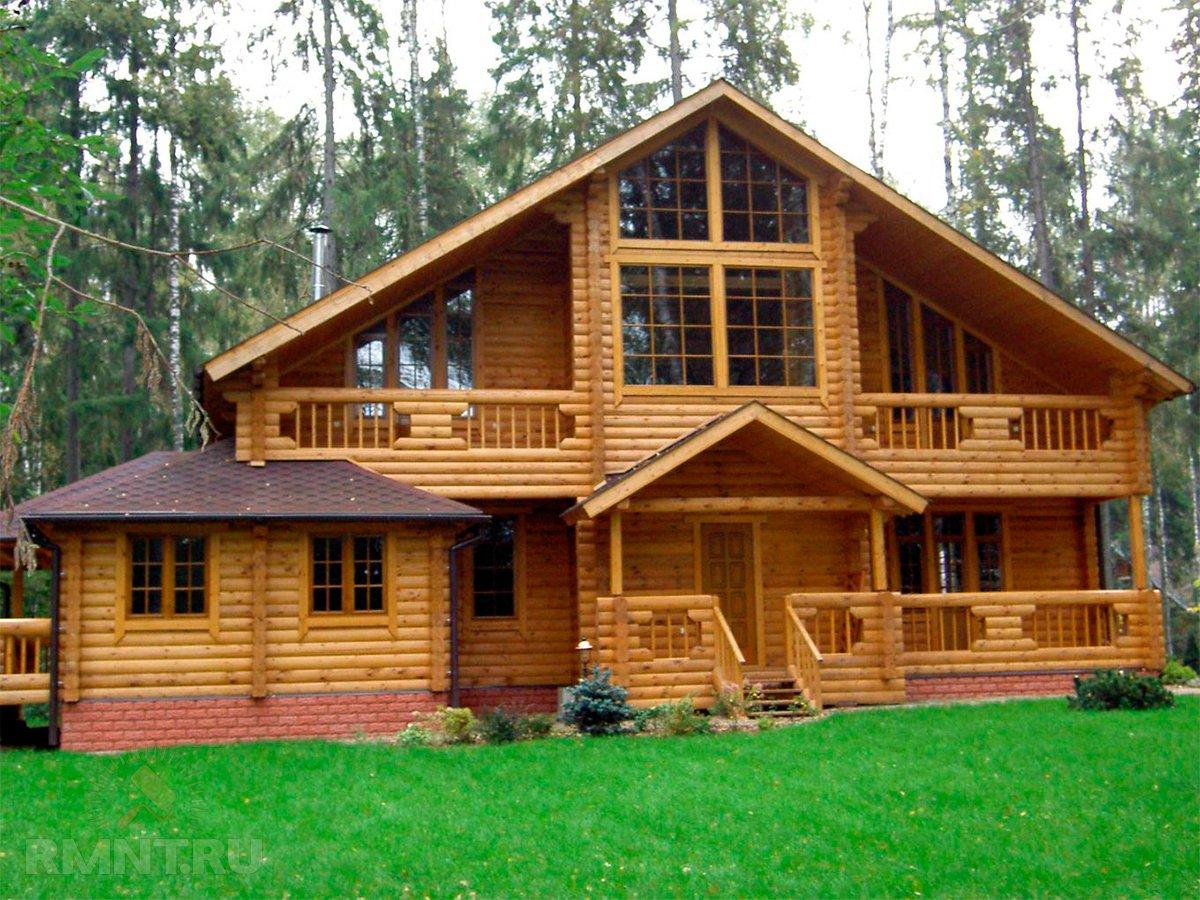 Оцилиндрованное и рубленое бревно — что выбрать для строительства дома