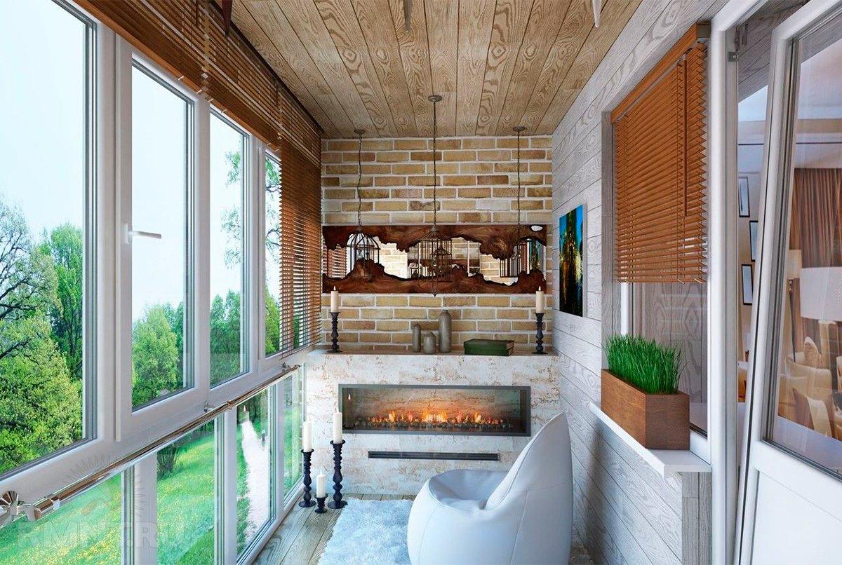 Дизайн балкона 4 кв м