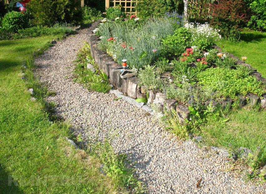 Сад в деревенском стиле своими руками 61