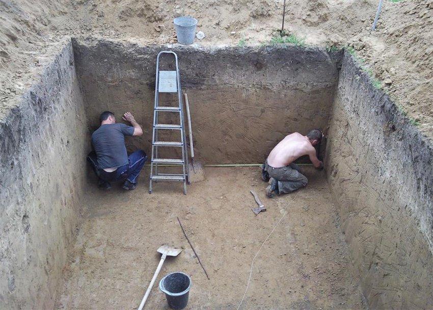 Строить погреб своими руками 75