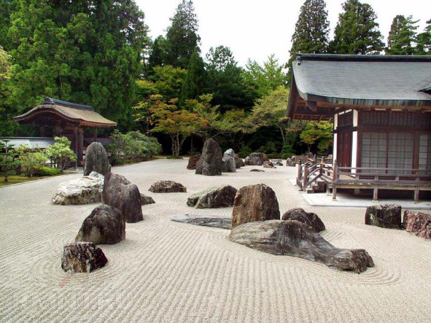 Сад для релаксации элементы японского сада