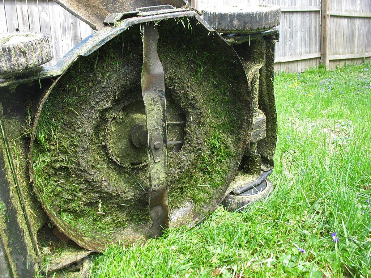 Лезвие газонокосилки