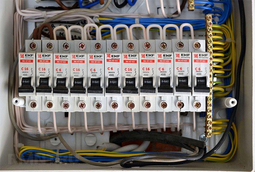 Электропроводка в гараже своими руками схема фото 608