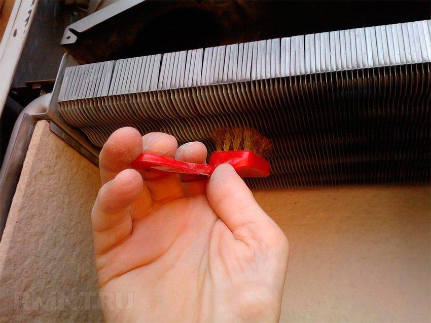 Теплообменник чистка своими руками 64