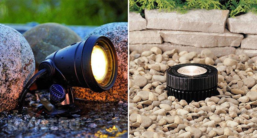 Как организовать подсветку фонтанов, бассейнов и водоемов