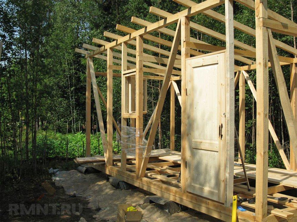 разрешение на строительство хозблока