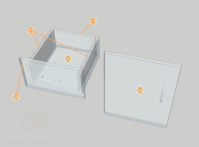 Раскладной кухонный стол своими руками: чертежи и схемы