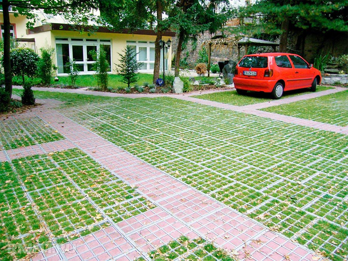 Как превратить газон в парковку и не влететь на штраф 41