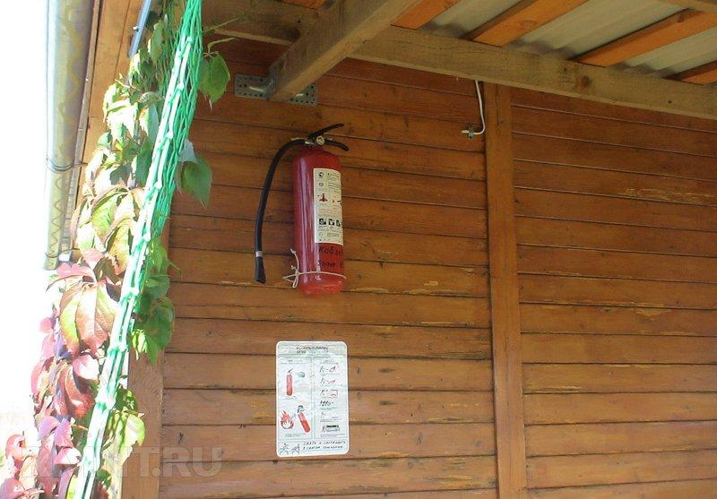 Противопожарные меры в загородном доме
