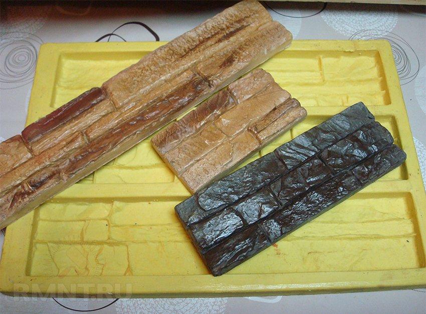 Как изготовить формы для искусственного камня своими руками 38