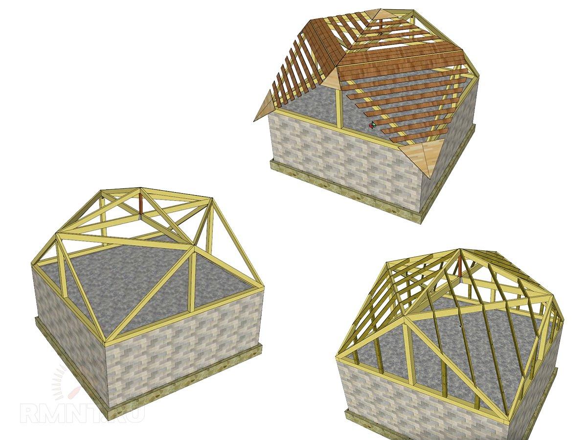 Конструкция крыши Судейкина