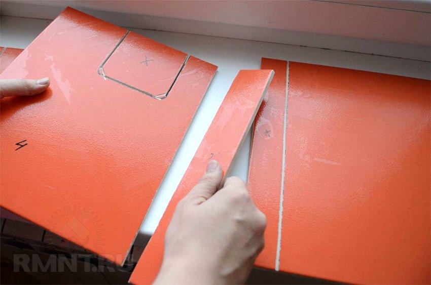 Как и чем резать плитку и сверлить отверстия