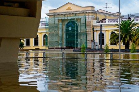 Ущерб от наводнения в Сочи оценили в 760 млн рублей