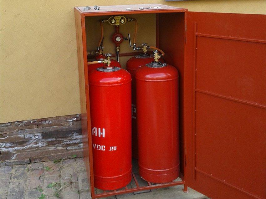 Газовое отопление от баллона
