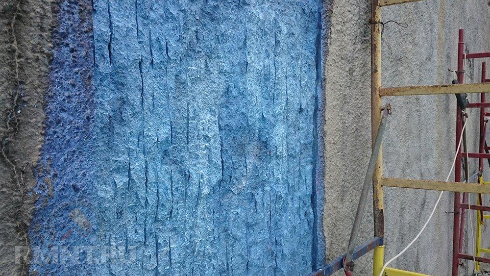 Нанесение латексной грунтовки на фасад