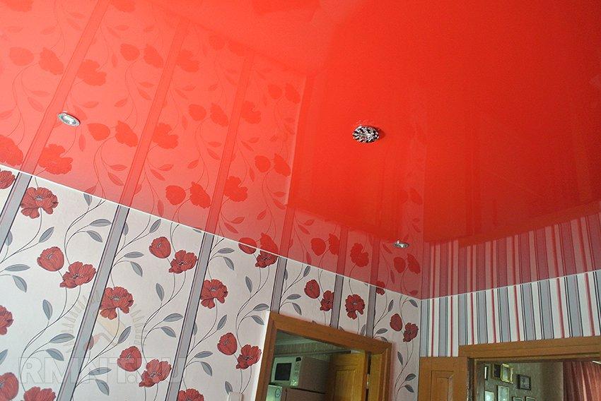 Как сделать пластиковый потолок в туалете фото 601