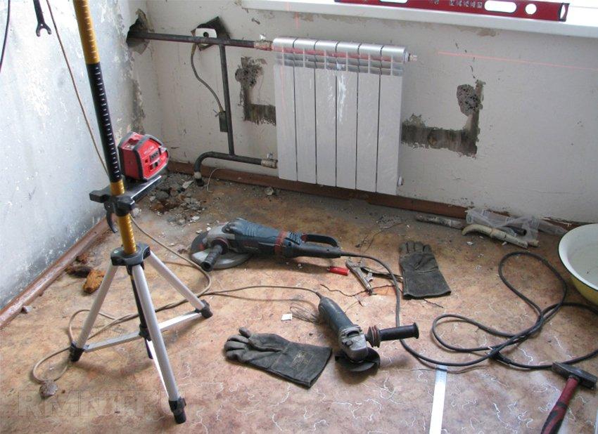 Монтаж и установка радиаторов отопления своими руками