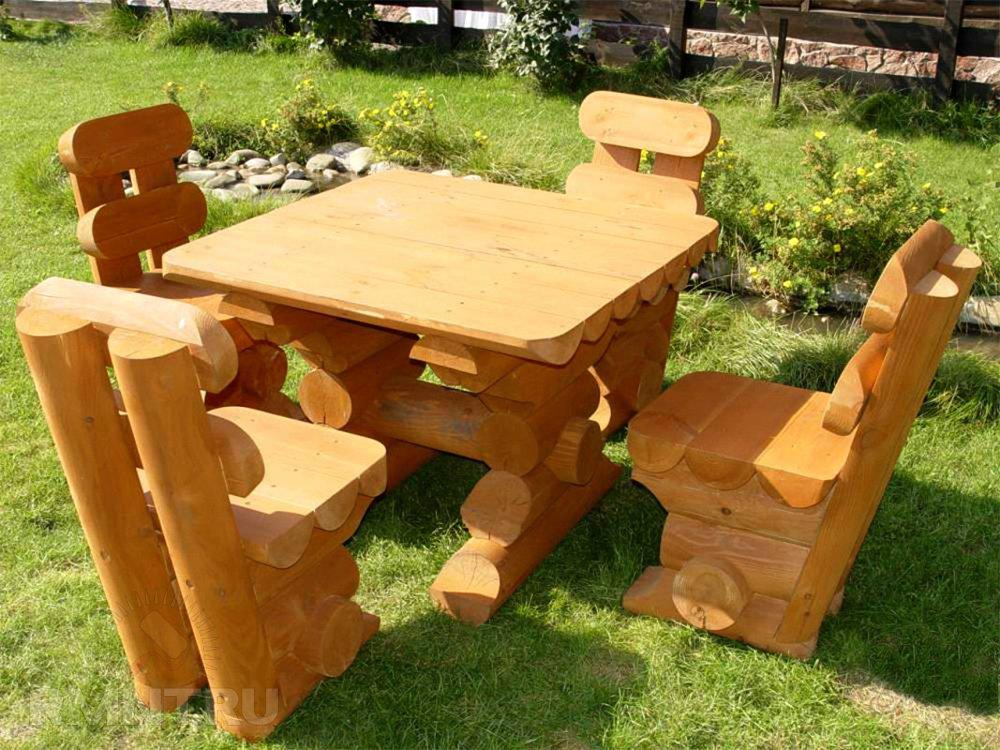 Необыкновенная садовоя мебель