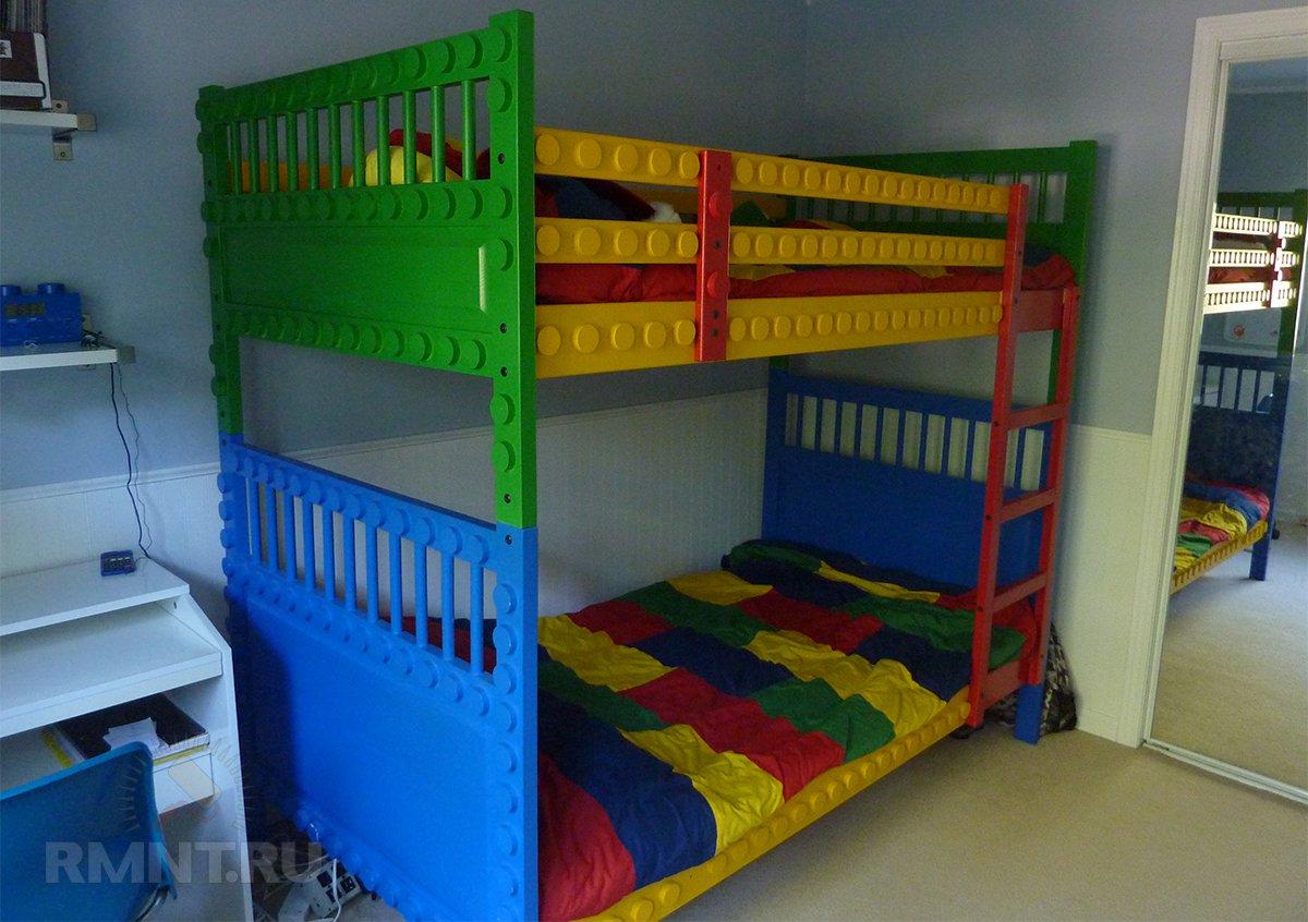 Детская комната в стиле Lego