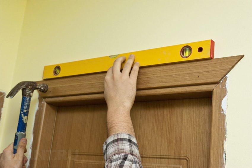 Установка петель межкомнатных дверей своими руками