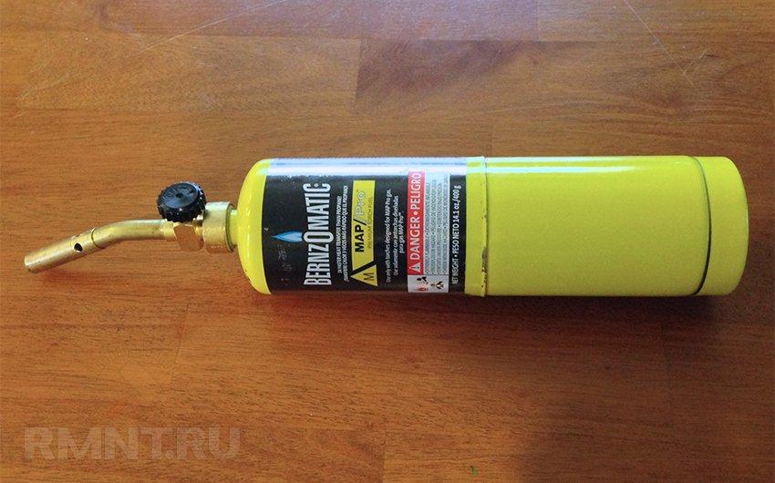 Газовая горелка на баллончик. Выбор, использование
