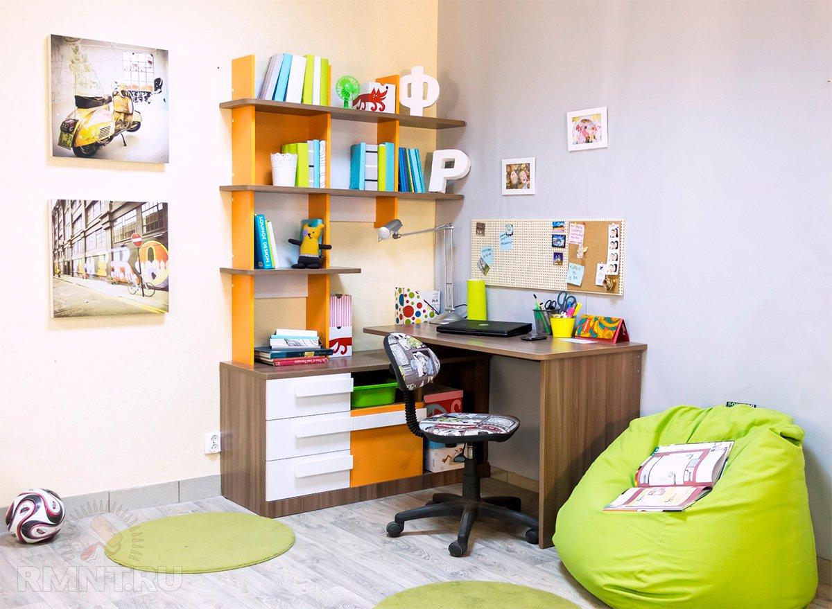Как обустроить детскую комнату для школьника