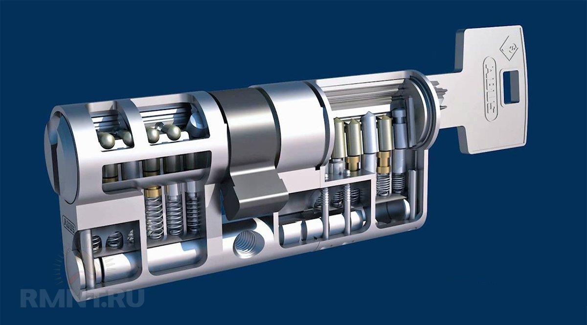 Цилиндр ABUS Bravus MX