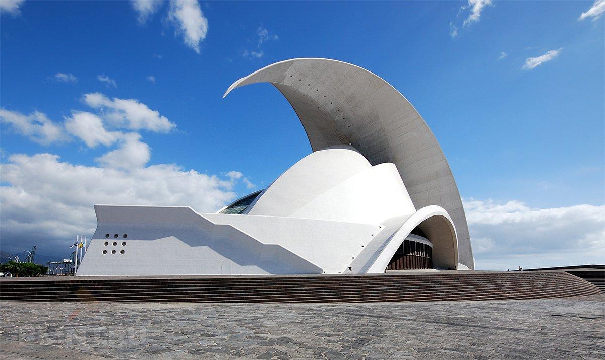 Концертный зал Tenerife Auditorium на Канарских островах
