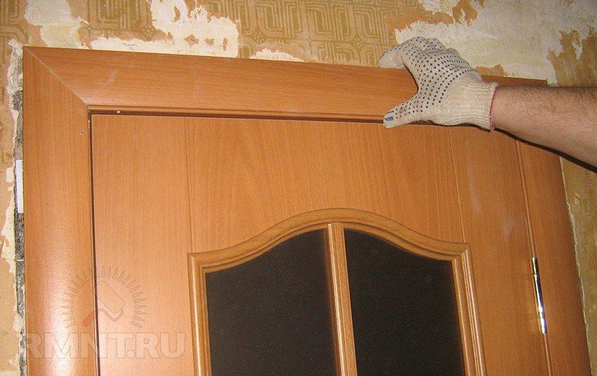 Ремонт межкомнатных дверей из мдф своими руками