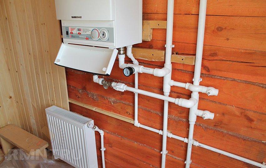 Газовый котел для отопления частного дома своими руками 18