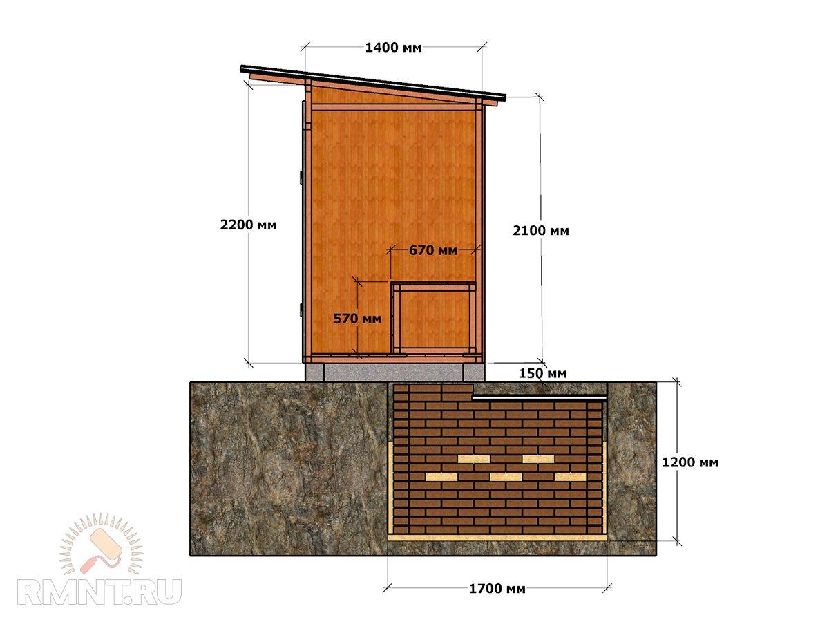 Летний душ для дачи: постройка своими руками 54
