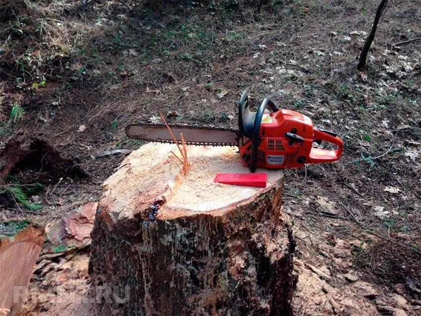 Удаление деревьев с завешиванием частей