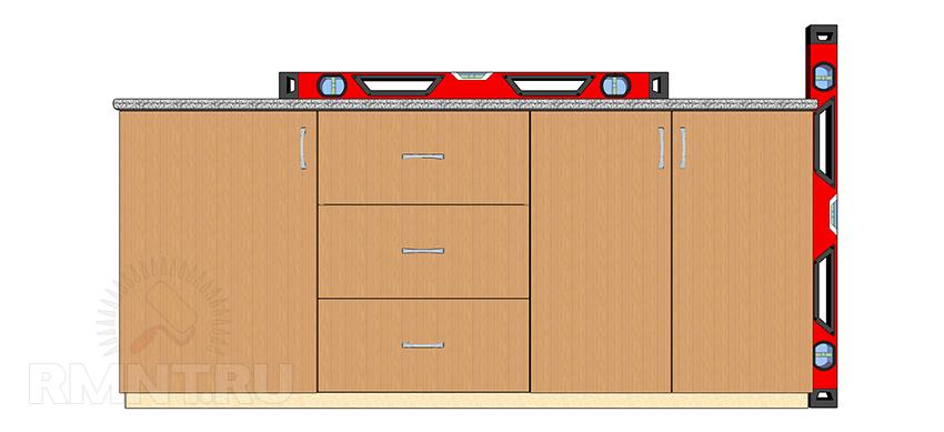 Установка кухни: сборка кухонного гарнитура своими руками