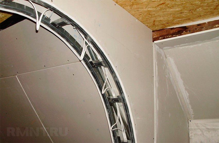 арка своими руками из дсп пошаговая инструкция с фото