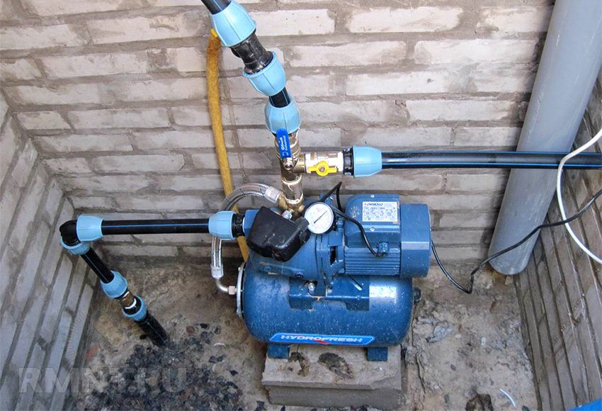 Водонапорные домашние станции для домашнего водопровода